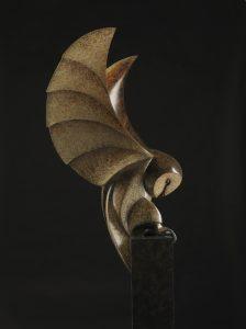 bronze_barn_owl_paul_harvey