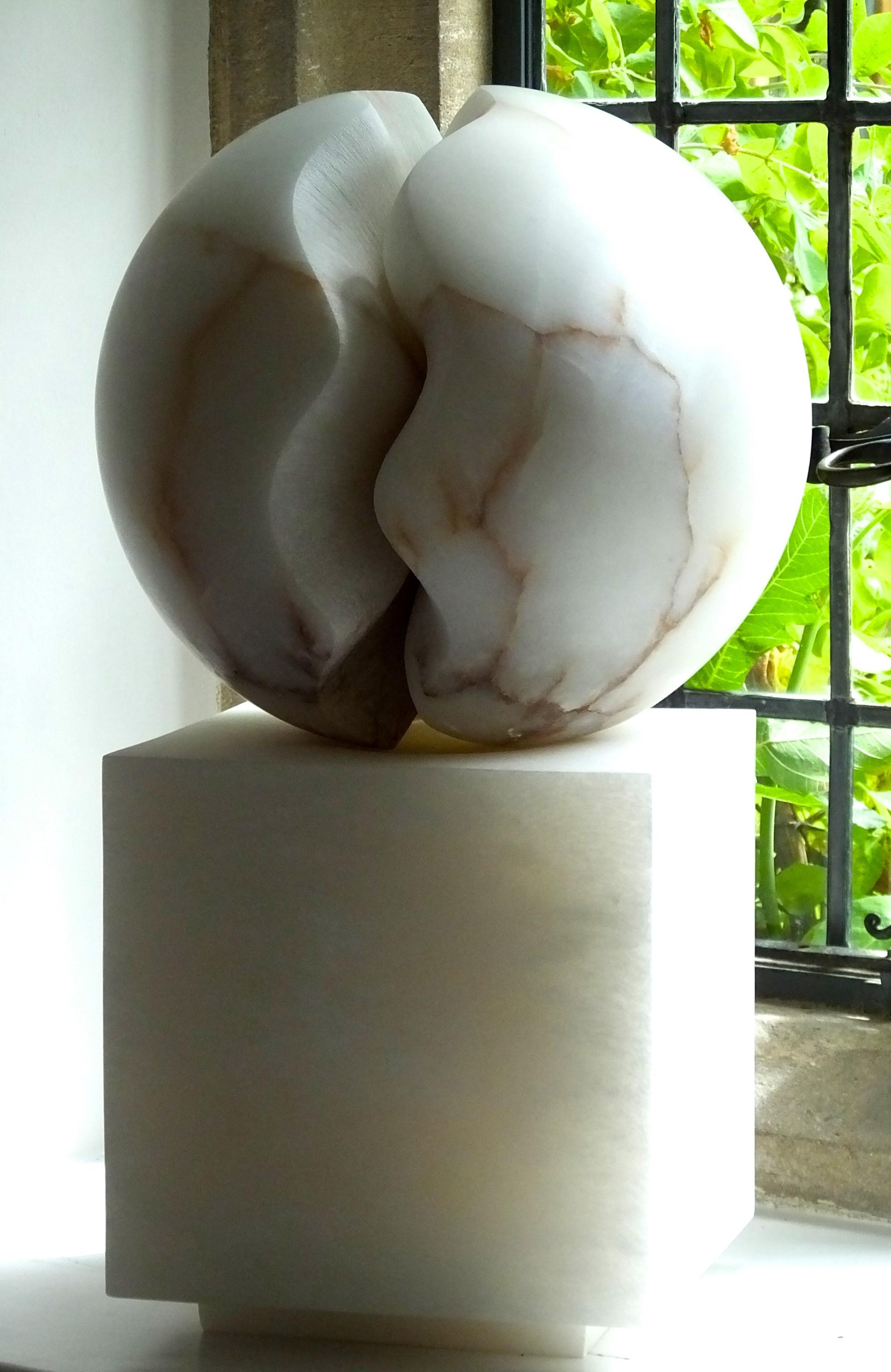 Fracture II, alabaster, 36x36x60 cm, £6,500