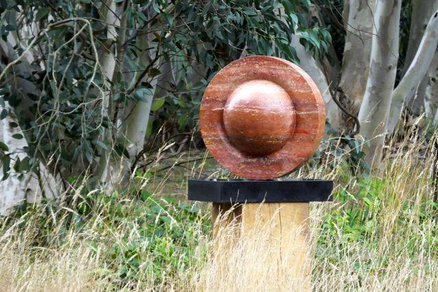 Pianeta Arancione, Persian travertine, 45x45x28 cm, £5,500