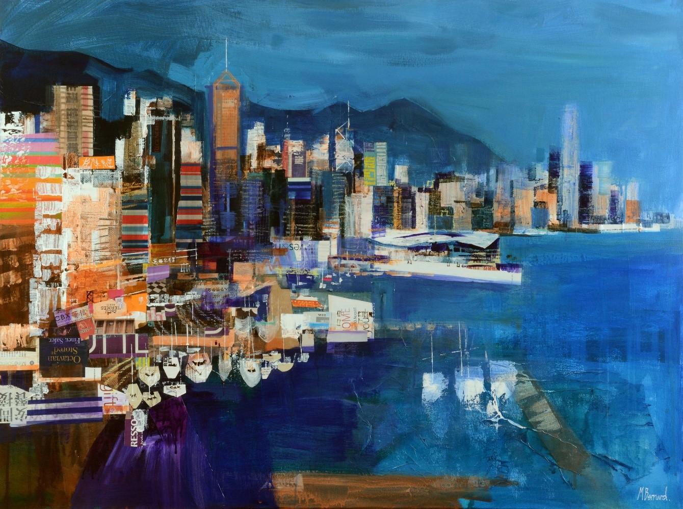 City Skyline Hong Kong Mike Bernard