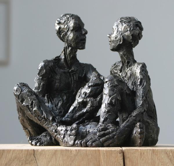 Seated Male Figure  – Carol Peace