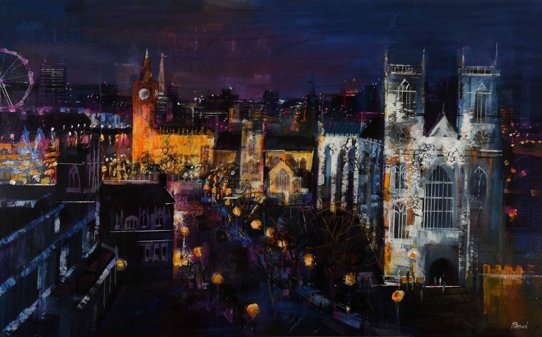Westminster at Night Mike Bernard